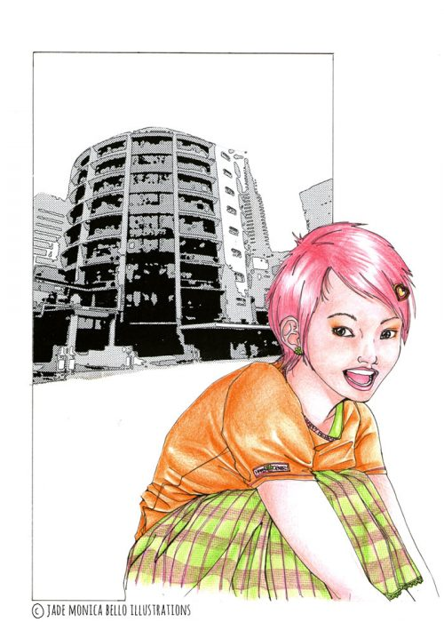 Mikako - Gokinjo Monogatari, ai yazawa, fanart, illustration, manga, japan