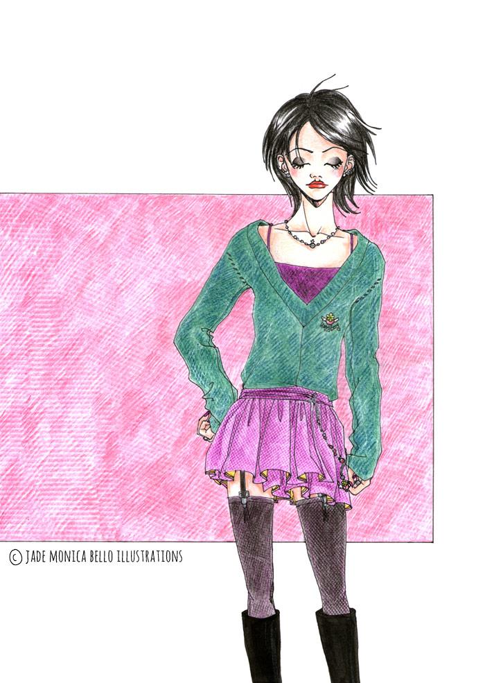 Nana Osaki - Nana | Jade Monica Bello