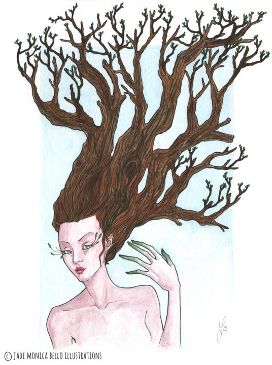 Tree Nymph | Jade Monica Bello