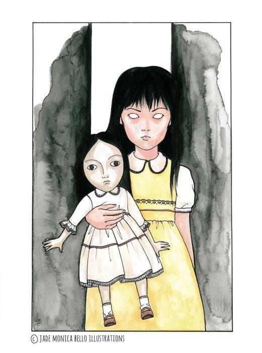 Chisato & doll | Jade Monica Bello