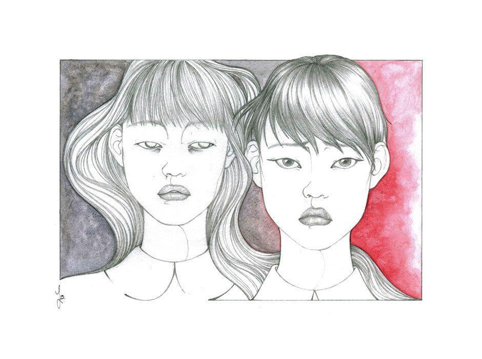 Maya & Michi | Jade Monica Bello