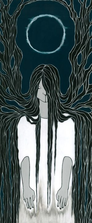 Sadako, fanart, illustration, movie, japan, horror, the ring