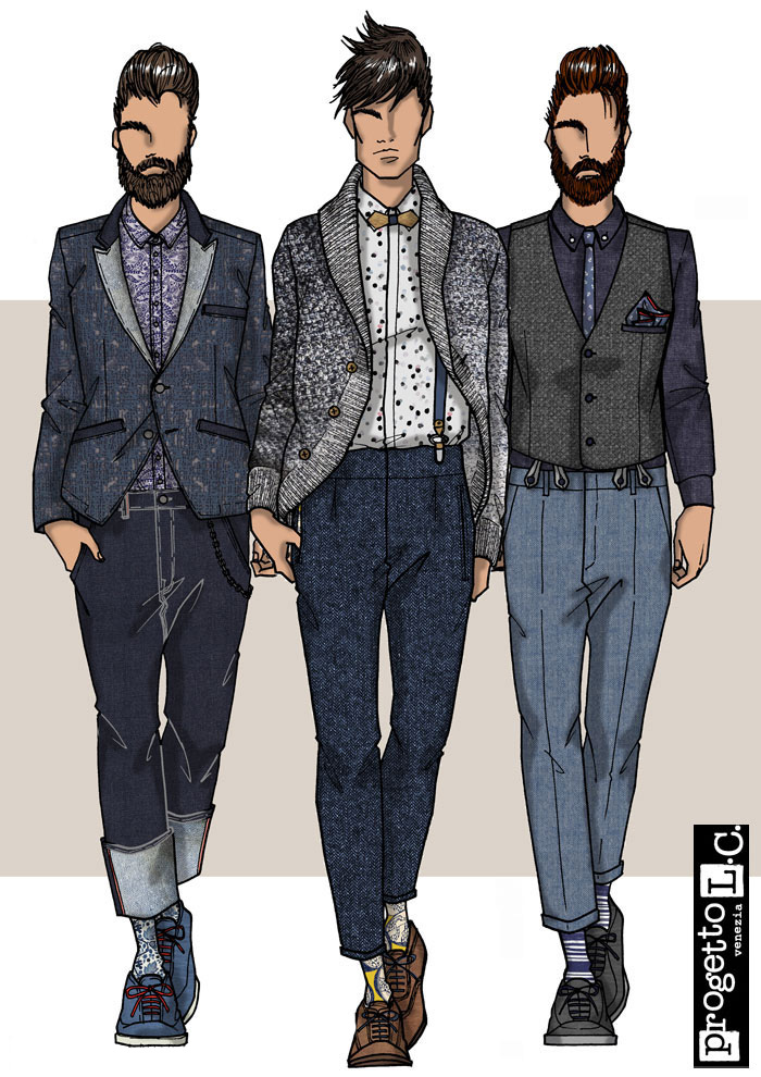 Look men 1 | Jade Monica Bello