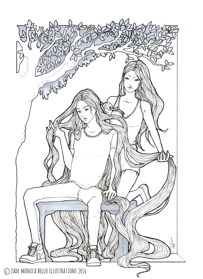 Long Hair Dream | Jade Monica Bello